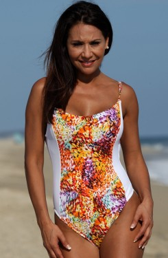 Tropical Starburst Body Shaper