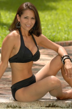 Classic Black Monroe Bikini