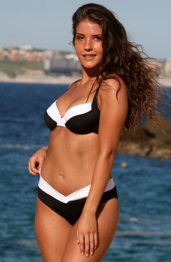Black and White Calypso Bikini