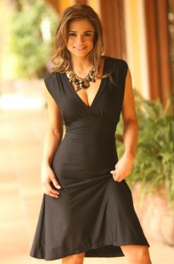 Classic Black Dress