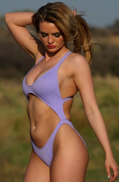 New Port One Piece Lilac