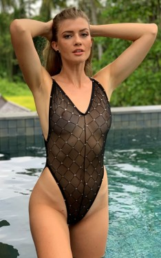 Fabulous Black Sheer Diamond 1-PC