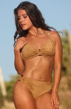 Vogue Faux Suede Bikini