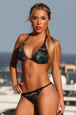 High Fashion Jungle Braided Bikini