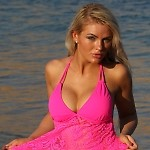 Festival Open Back Hot Pink Tankini Top