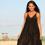 Black Resort Romper