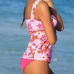 Sunset Beach Twist Tankini