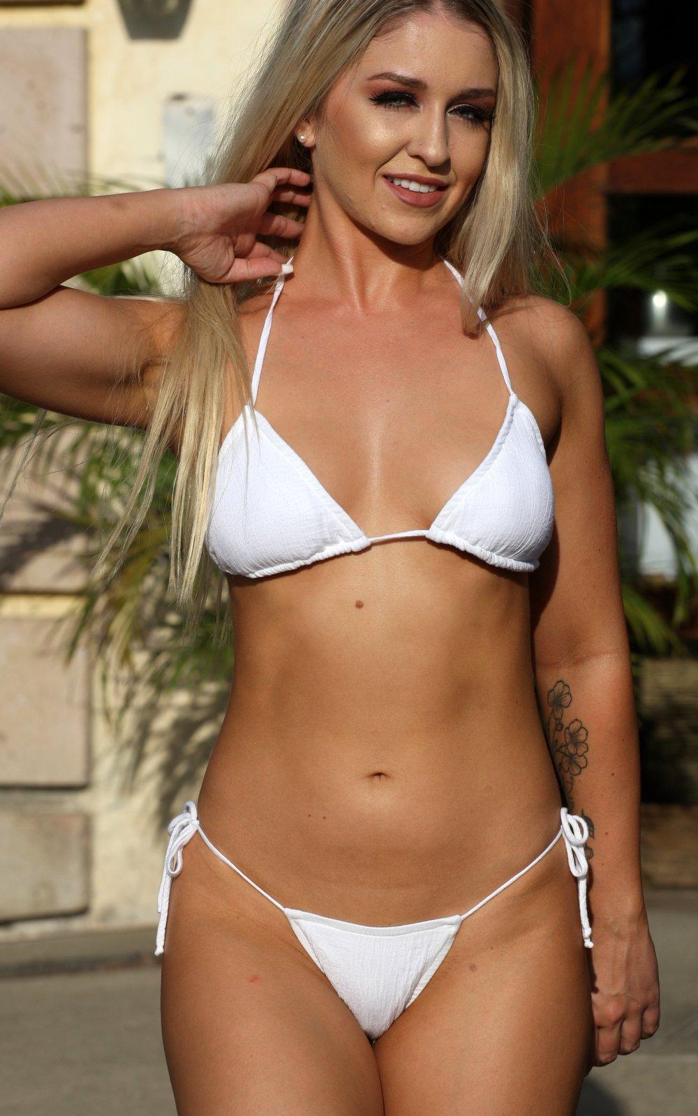 Sheer String Bikini