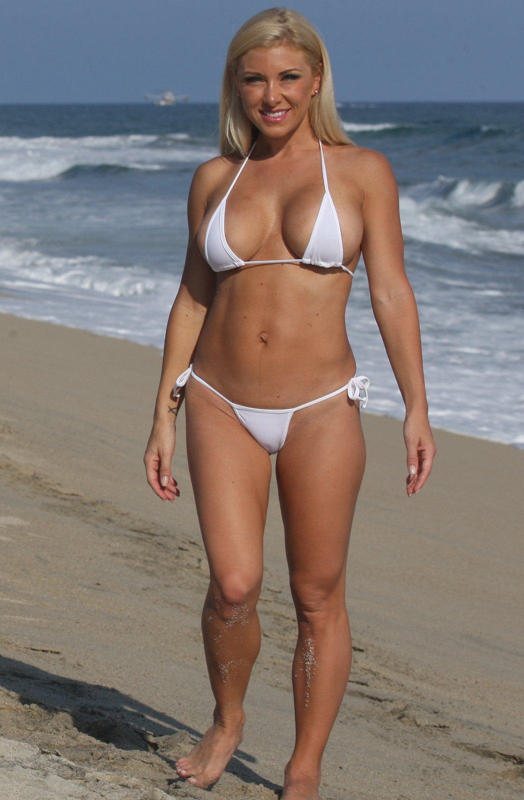 Rachel true bikini