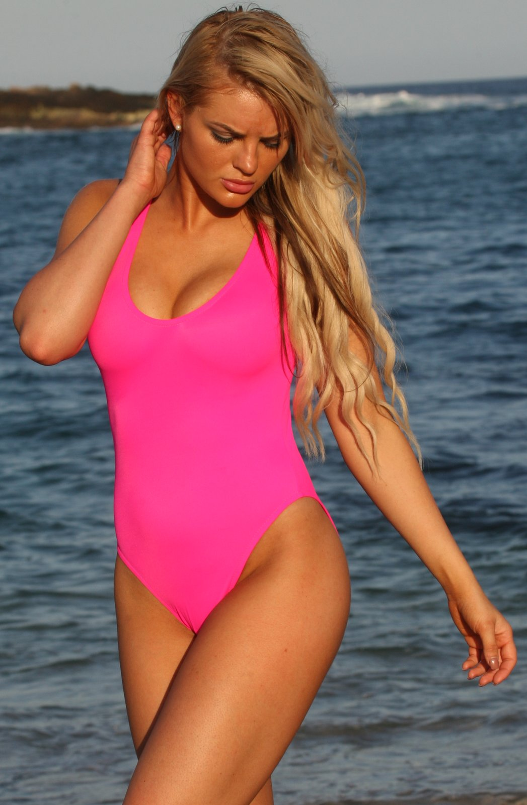 California Hot Pink 1-PC