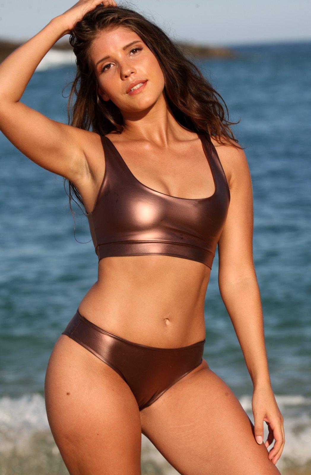 Easee Fit Action Bronze Cheeky Bikini
