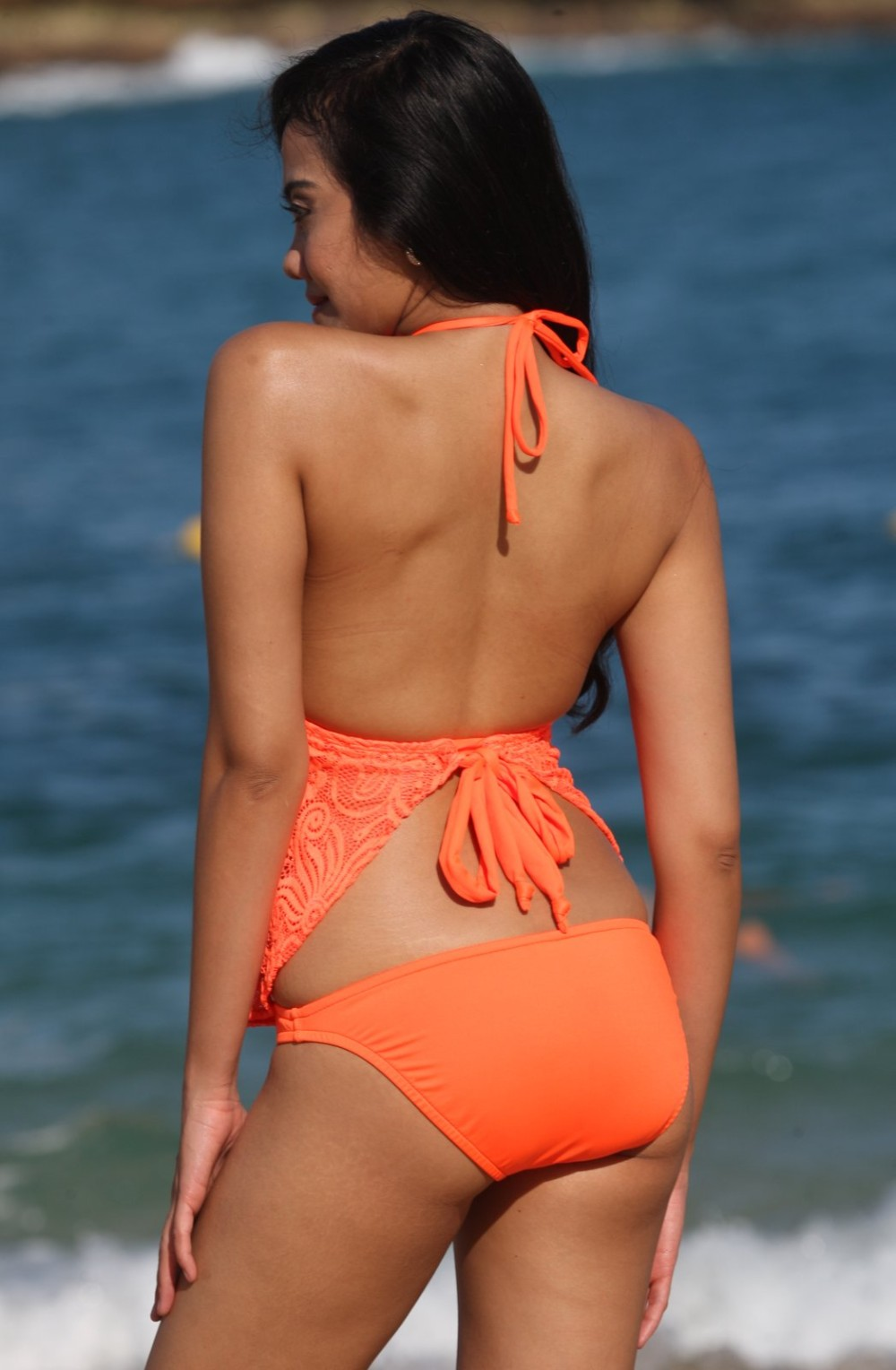 Tankinis With Open Back