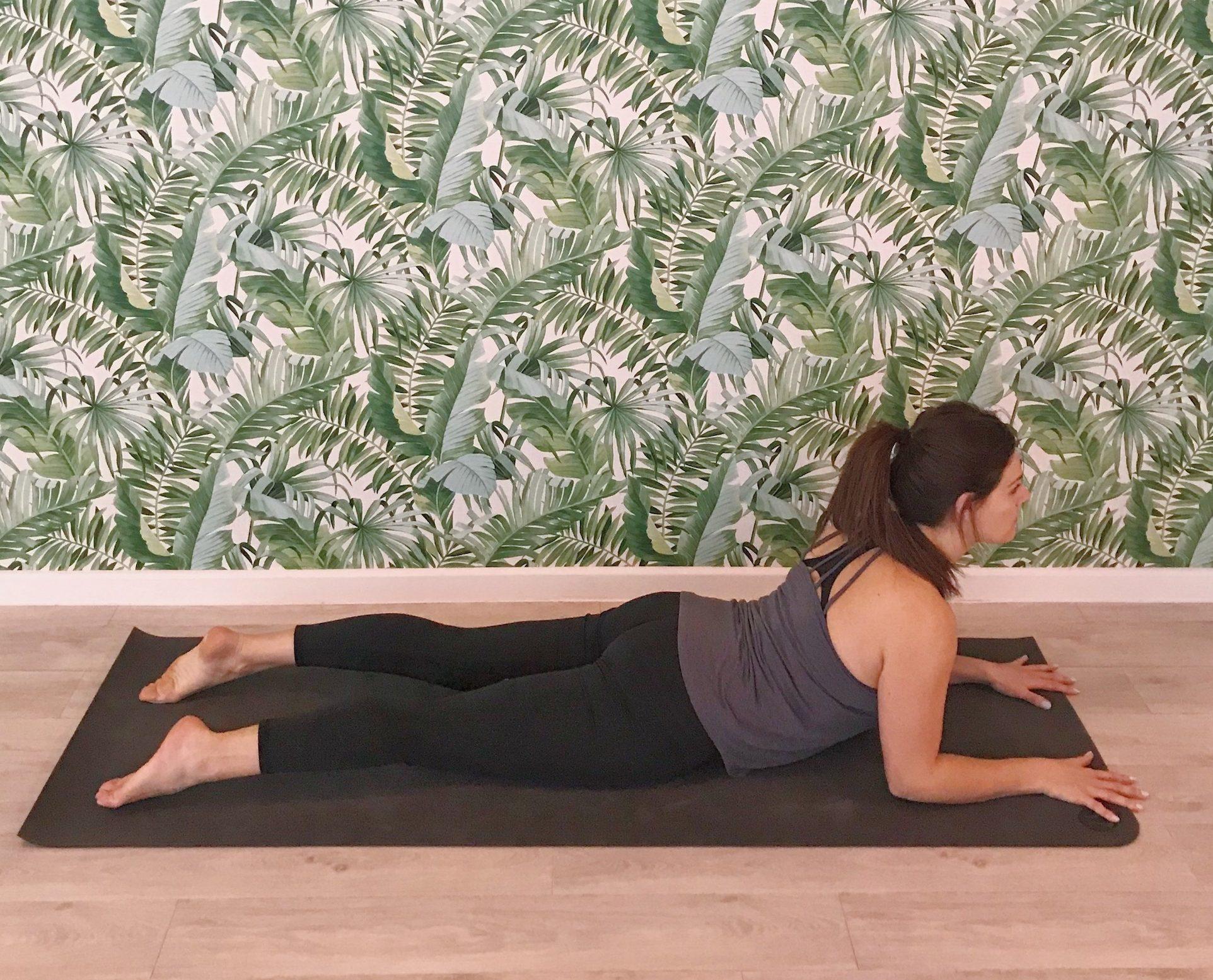 cobra pose 2 variation