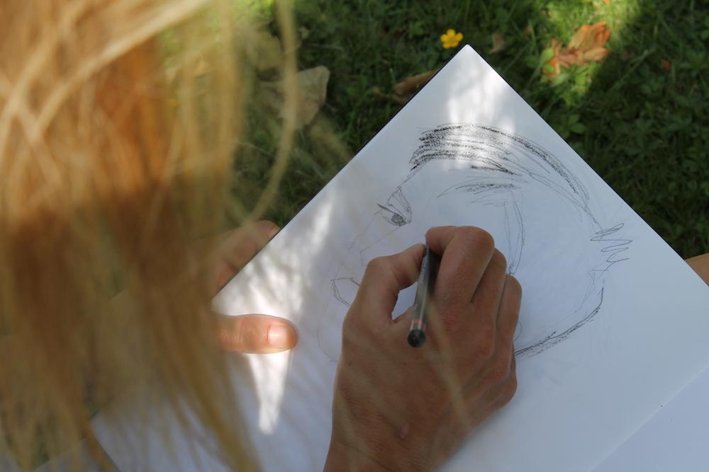 Magdalena drawing