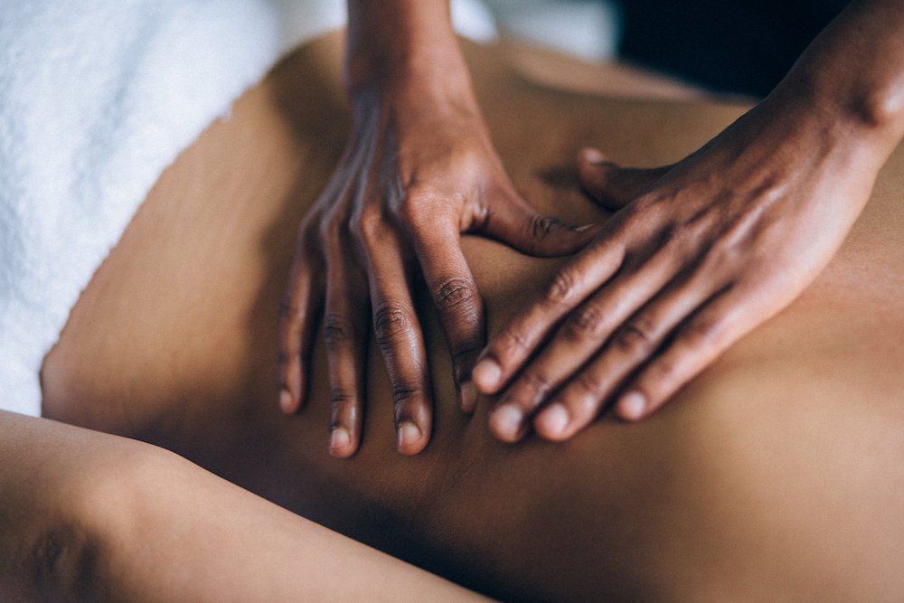 CBD massage at home