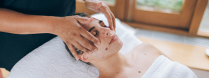 Facial to help with menopause
