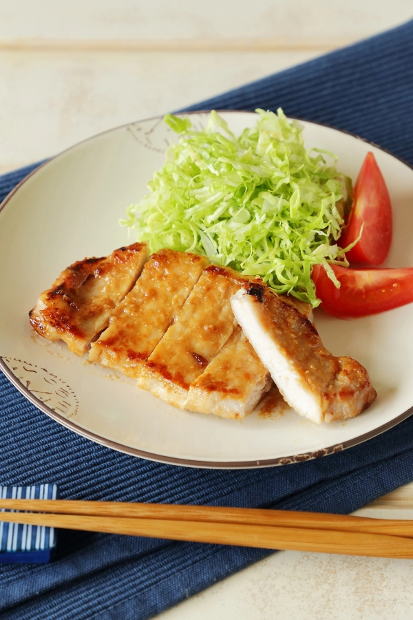 Grilled Pork with Miso