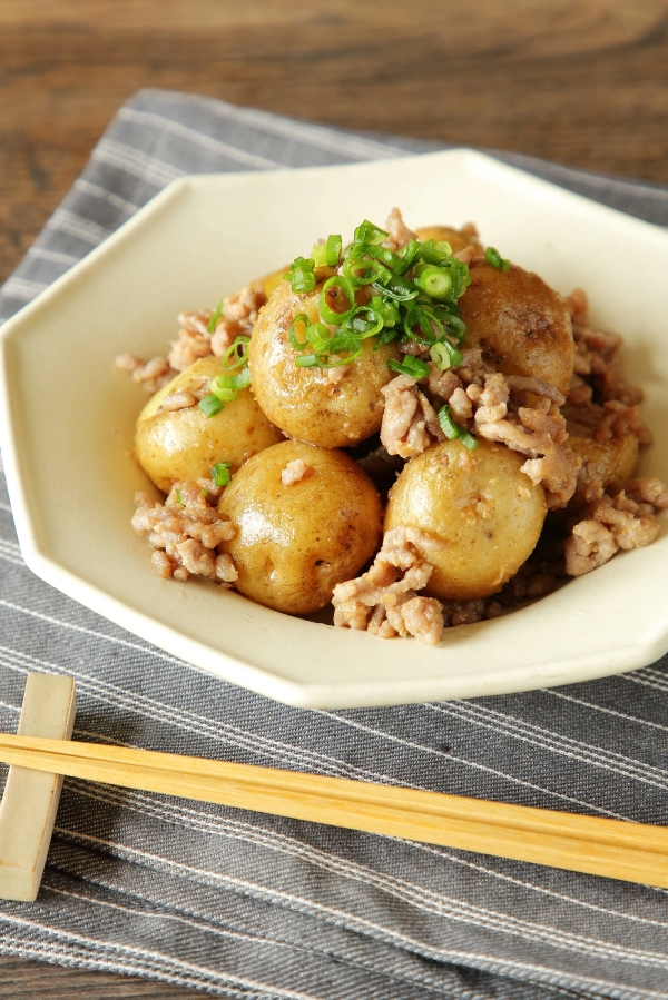 Potatoes & Minced Meat with Miso