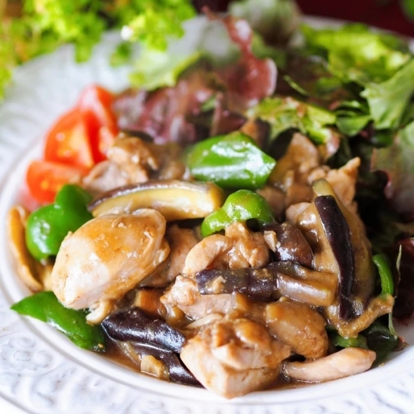 Chicken and Vegetables with Miso