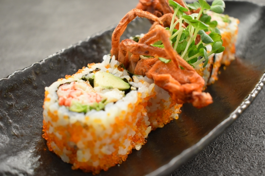Spider Roll by Former Sushi Chef