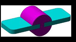zwei Komponenten Spritzguss rapid tooling Beispiel