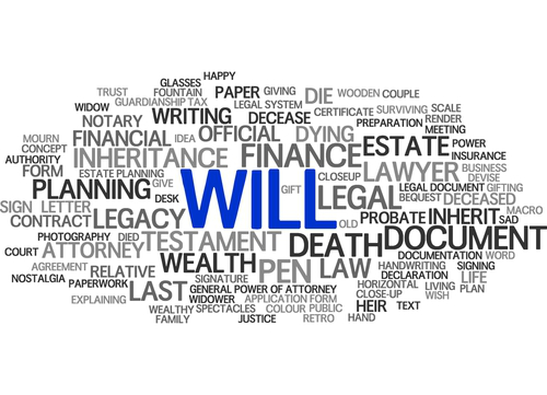 Be better prepared by making a will