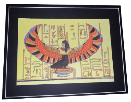 Egyptian with Wings