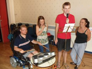 Wheelchair and Drums