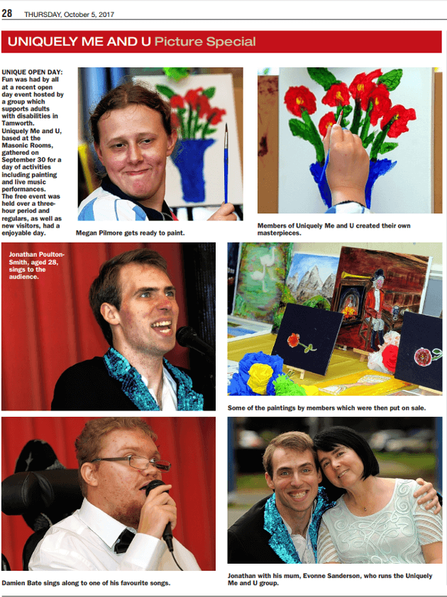 Tamworth Herald_Open Day Article