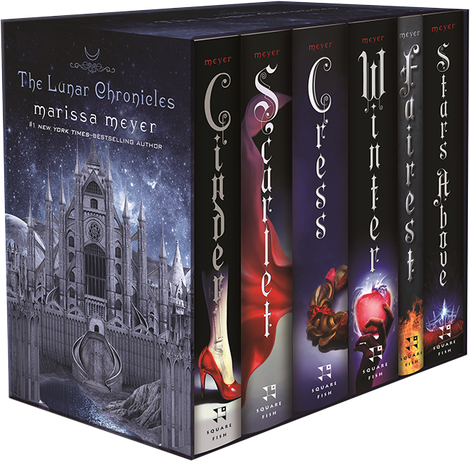 Image result for lunar chronicles box set