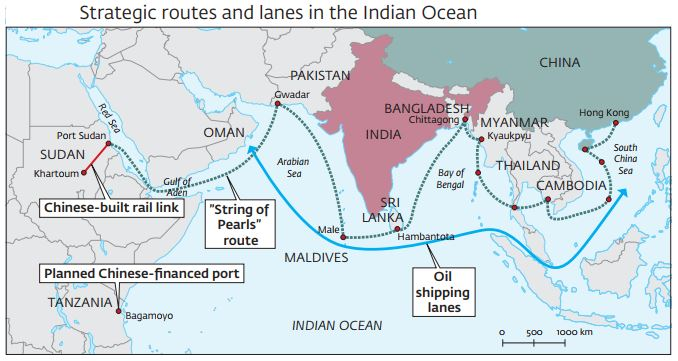 World Map India Centric. Map 1  Kauko Ky sti India s Look East Act Policy FIIA Finnish