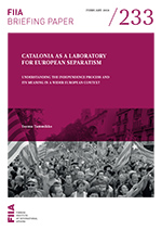 Catalonia as a laboratory for European separatism: