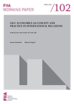 Geo-Economics as Concept and Practice in International Relations: