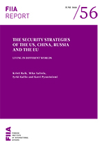 The security strategies of the US, China, Russia and the EU: