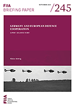 Germany and European defence cooperation: