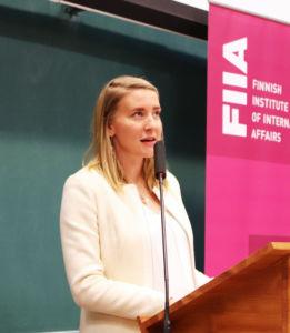 University Lecturer, Centre for European Studies, University of Helsinki: