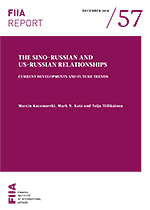 The Sino-Russian and US-Russian relationships: