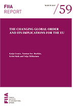 The changing global order and its implications for the EU