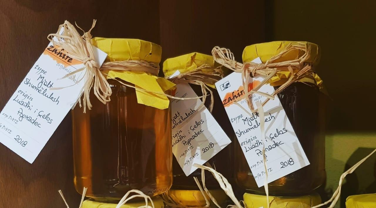Mjaltë shumëlulesh Pogradeci 400 gr