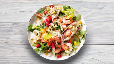 Kallamar, sepie, karkalec, midhje ( 300 gr )