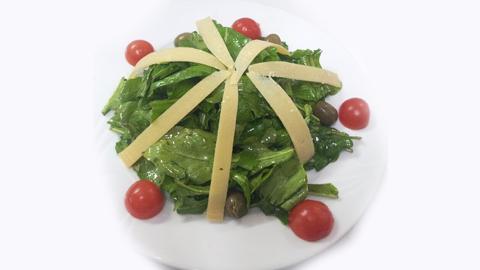 Sallatë rukola, parmigiano