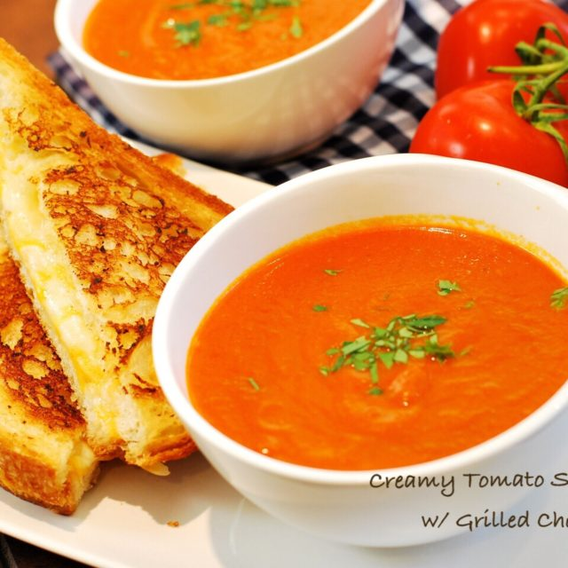 Tomato soup grilled cheese 640x640