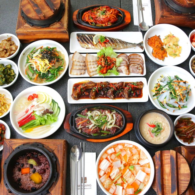 Korean side dishes 640x640