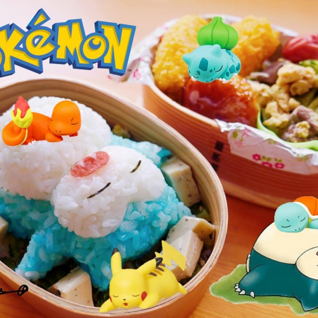 Pokemon bento 640x640