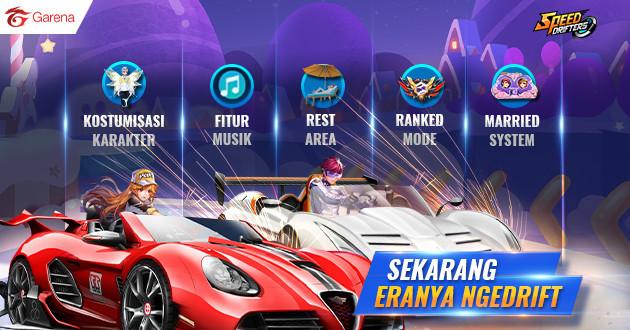 Perkenalkan Speed Drifters, Game Mobile Racing Terbaru Dari Garena!
