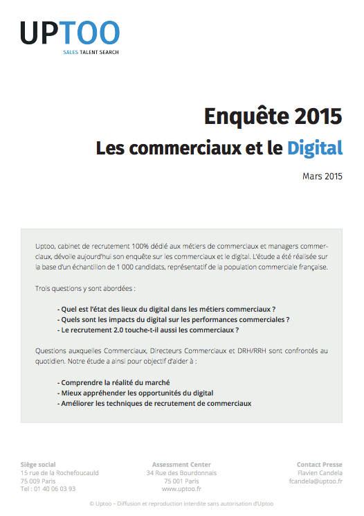 Les commerciaux & le digital