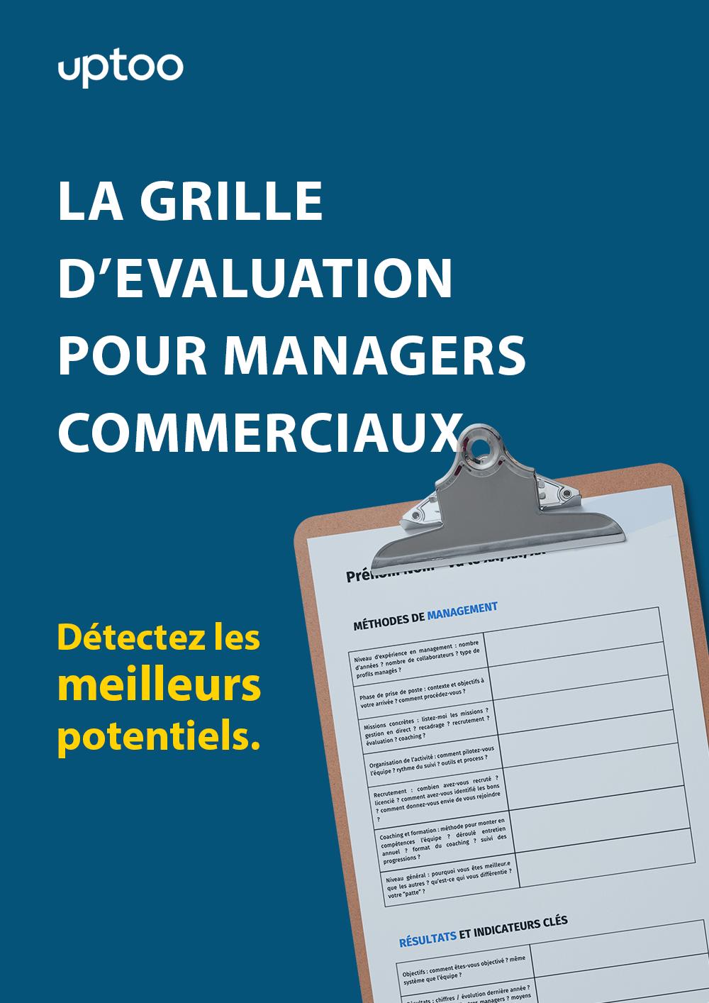 Grille d'évaluation pour managers commerciaux