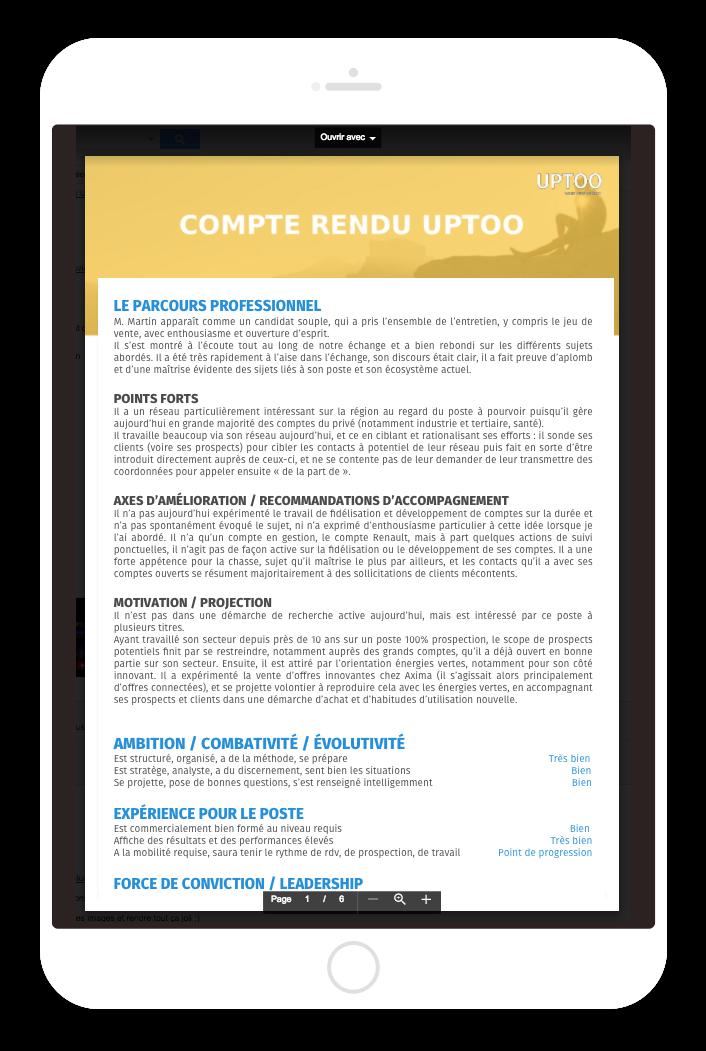 ipad-compte-rendu-evaluation-candidat