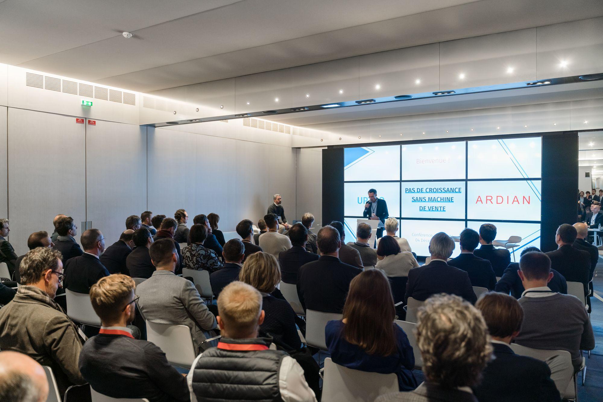 Conférence Inspirante : Pas de croissance sans machine de vente