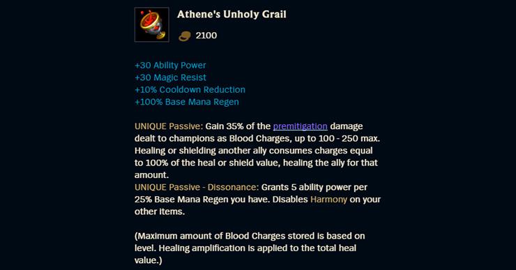 Athene's Unholy Grail